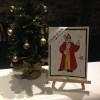 En décembre, les enfants créent leur carte de Noël !